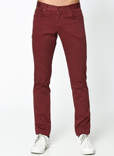 Wessi Denim Pantolon Bordo